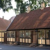 Hans Christian Andersen's childhood home - now a museum.