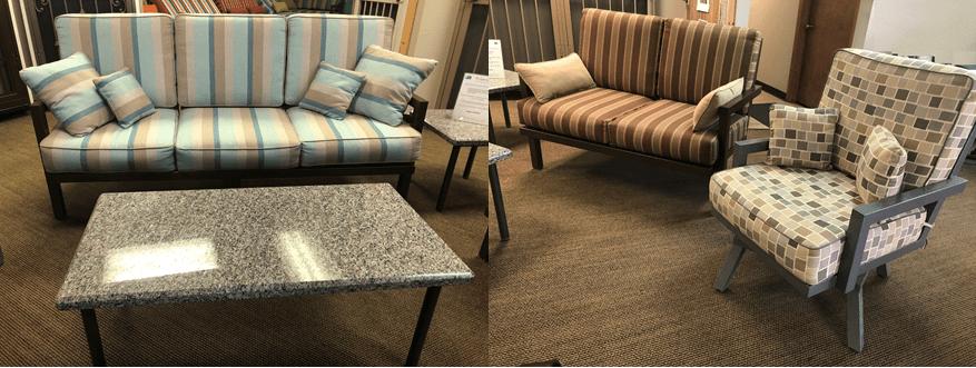 premier series patio furniture sets in