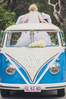 VW Camper Wedding Ride 0000000000