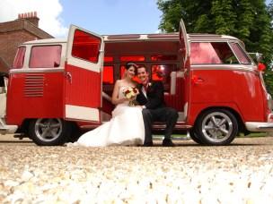 VW Camper Wedding Ride 0000000