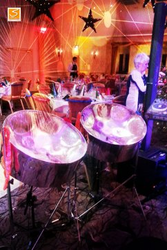 Careys Manor Steel Band Hire j