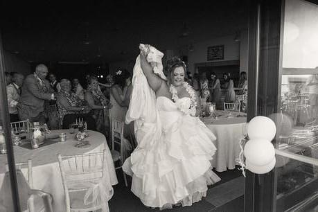 steelasophical wedding steel band for hire bride dancing