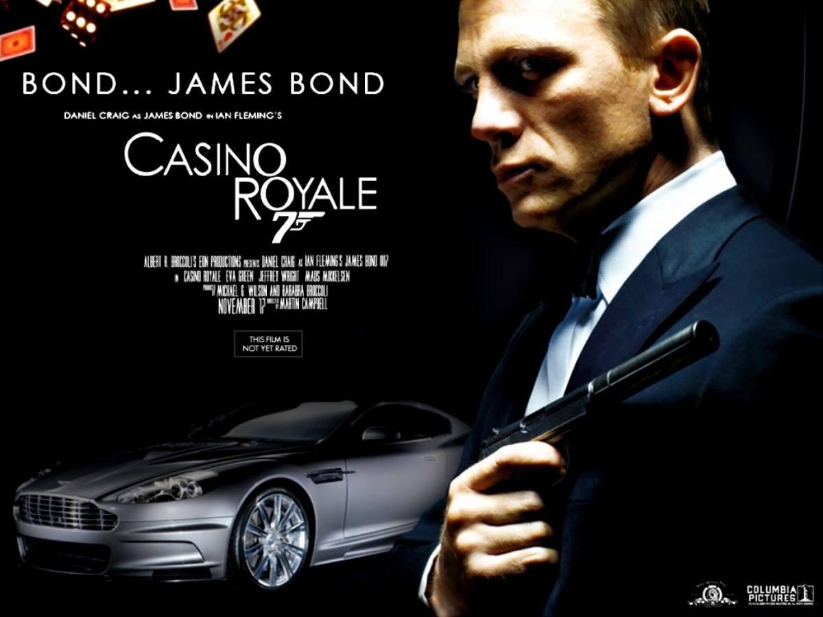 James Bond 007 Casino Royale Sony