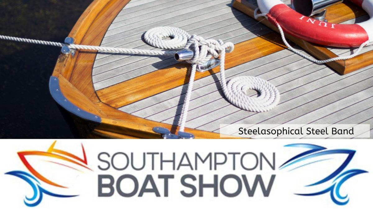 Steelasophical Steel Band Southampton Boat Show Yacht Market Entertainment 00v