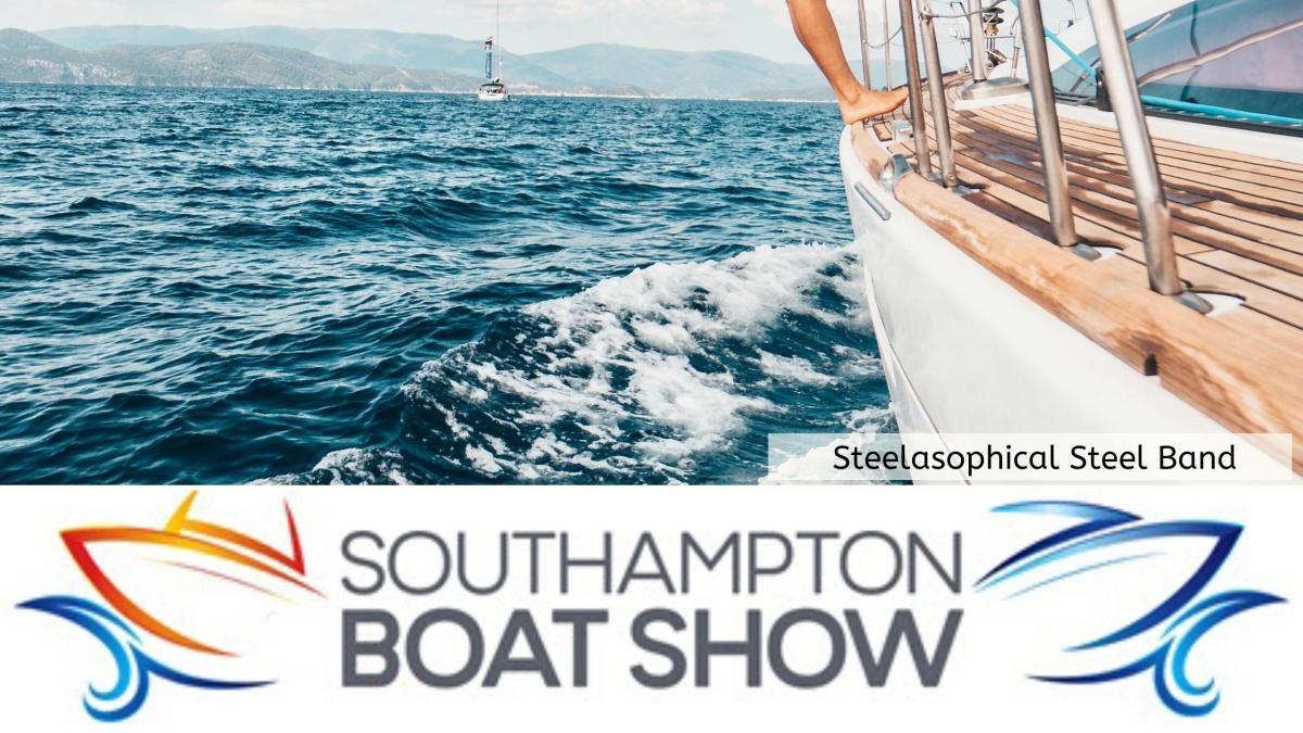 Steelasophical Steel Band Southampton Boat Show Yacht Market Music Stage 22eee