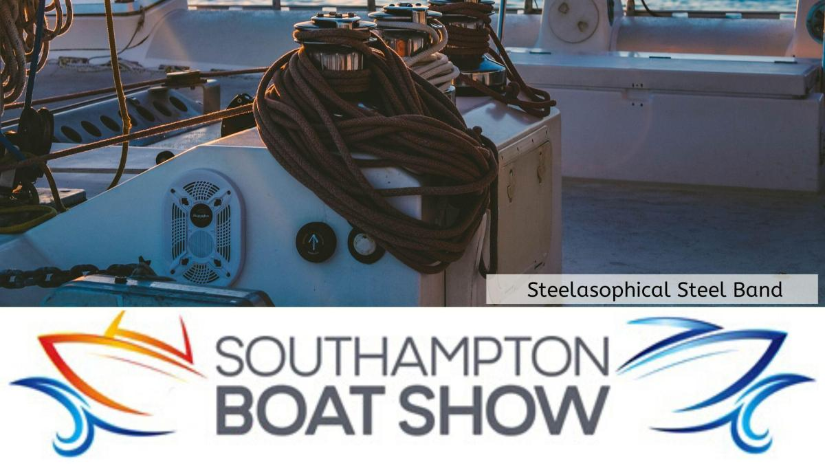 Steelasophical Steel Band Southampton Boat Show Yacht Market 2019