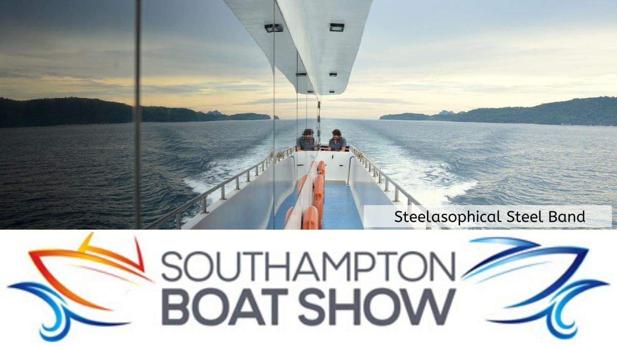 Steelasophical Steel Band Southampton Boat Show Yacht Market 2021