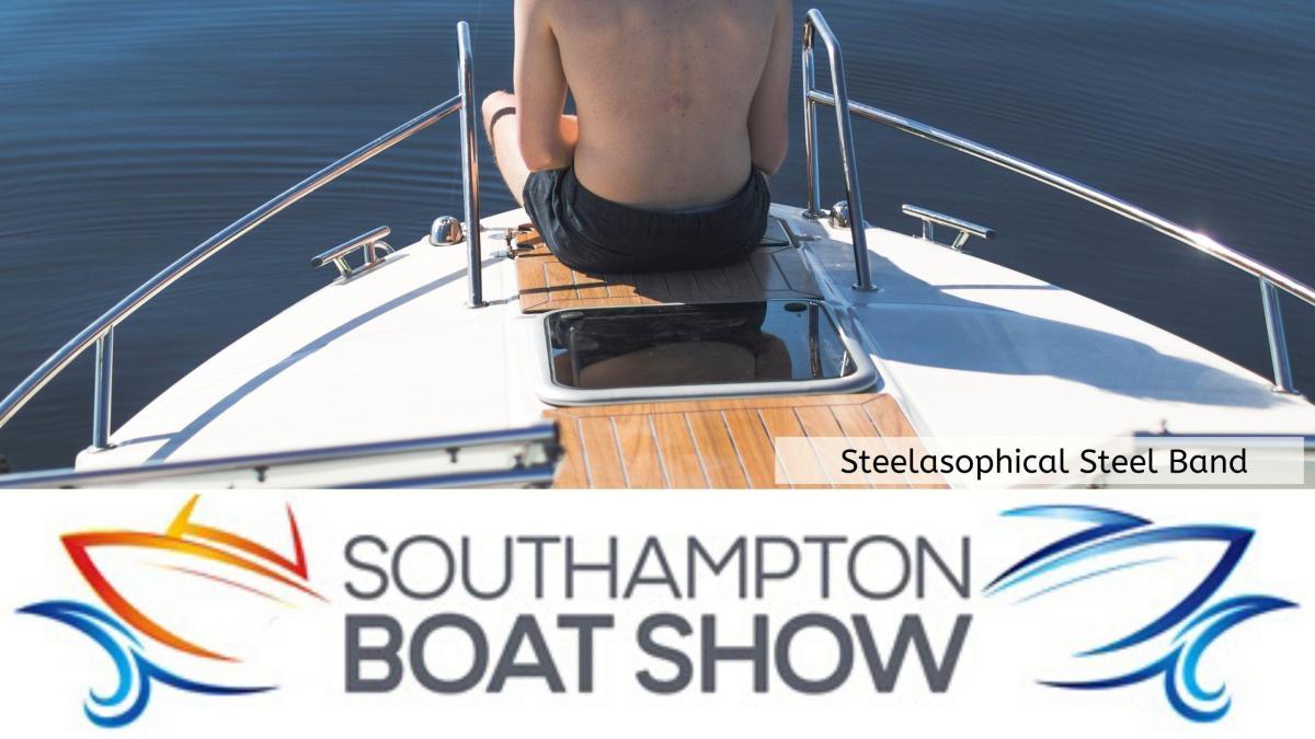 Steelasophical Steel Band Southampton Boat Show Yacht Market 2020