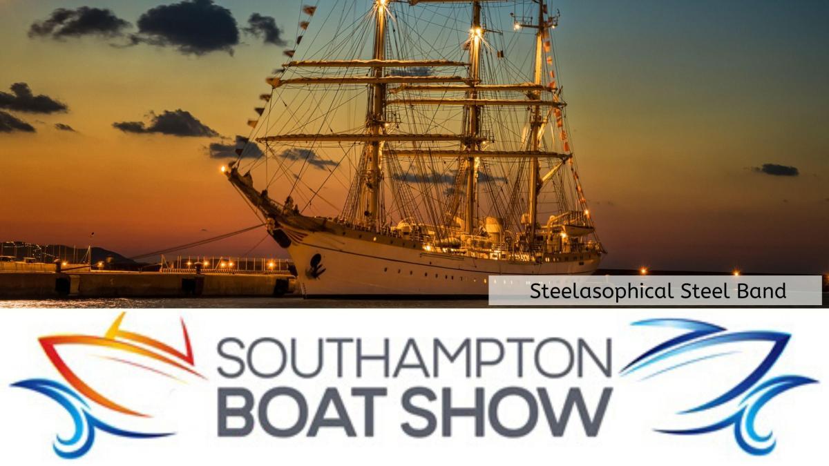 Steelasophical Steel Band Southampton Boat Show Yacht Market Tall Ships