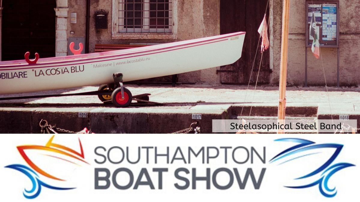 Steelasophical Steel Band Southampton Boat Show Yacht Market swdefr