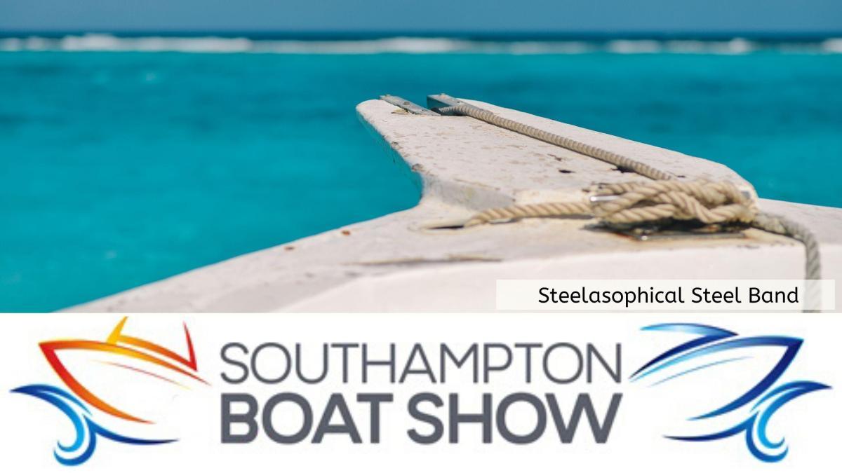 Steelasophical Steel Band Southampton Boat Show Yacht Market 07540 307890