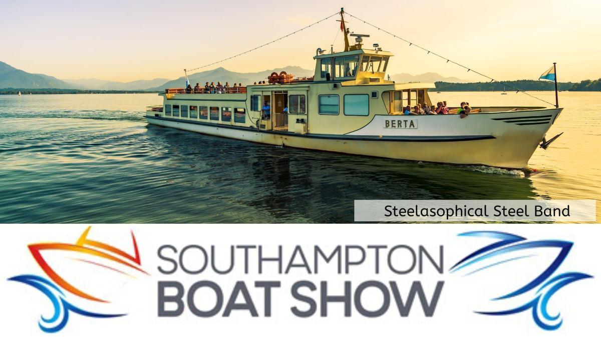 Steelasophical Steel Band Southampton Boat Show Yacht Market d3433