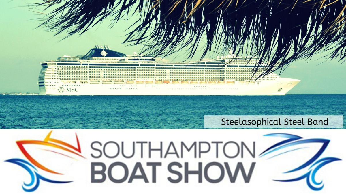 v Steelasophical Steel Band Soton Southampton Boat Show YachtMarket Yacht Market