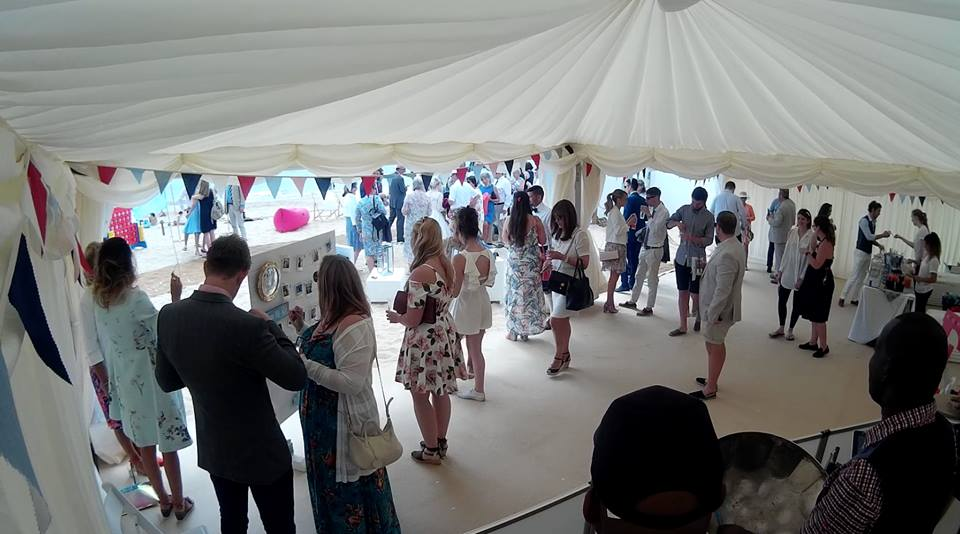 drinks reception wedding steel band for hire