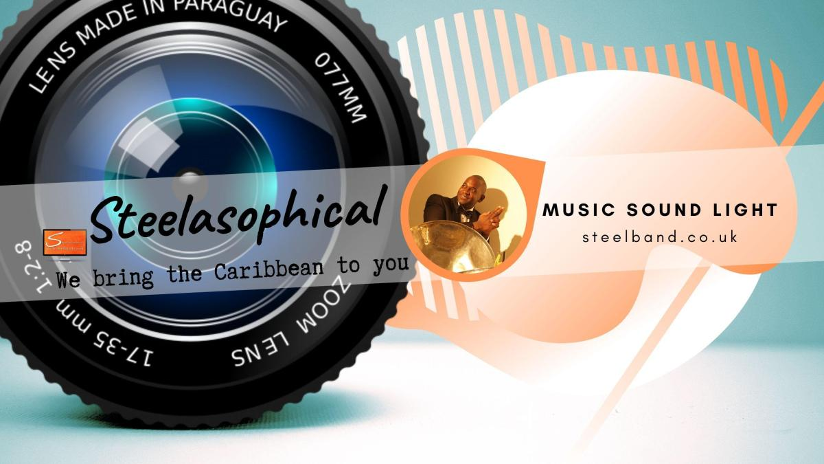 Steelasophical SteelBand for Hire UK steelpans Steeldrums Caribbean Music 56