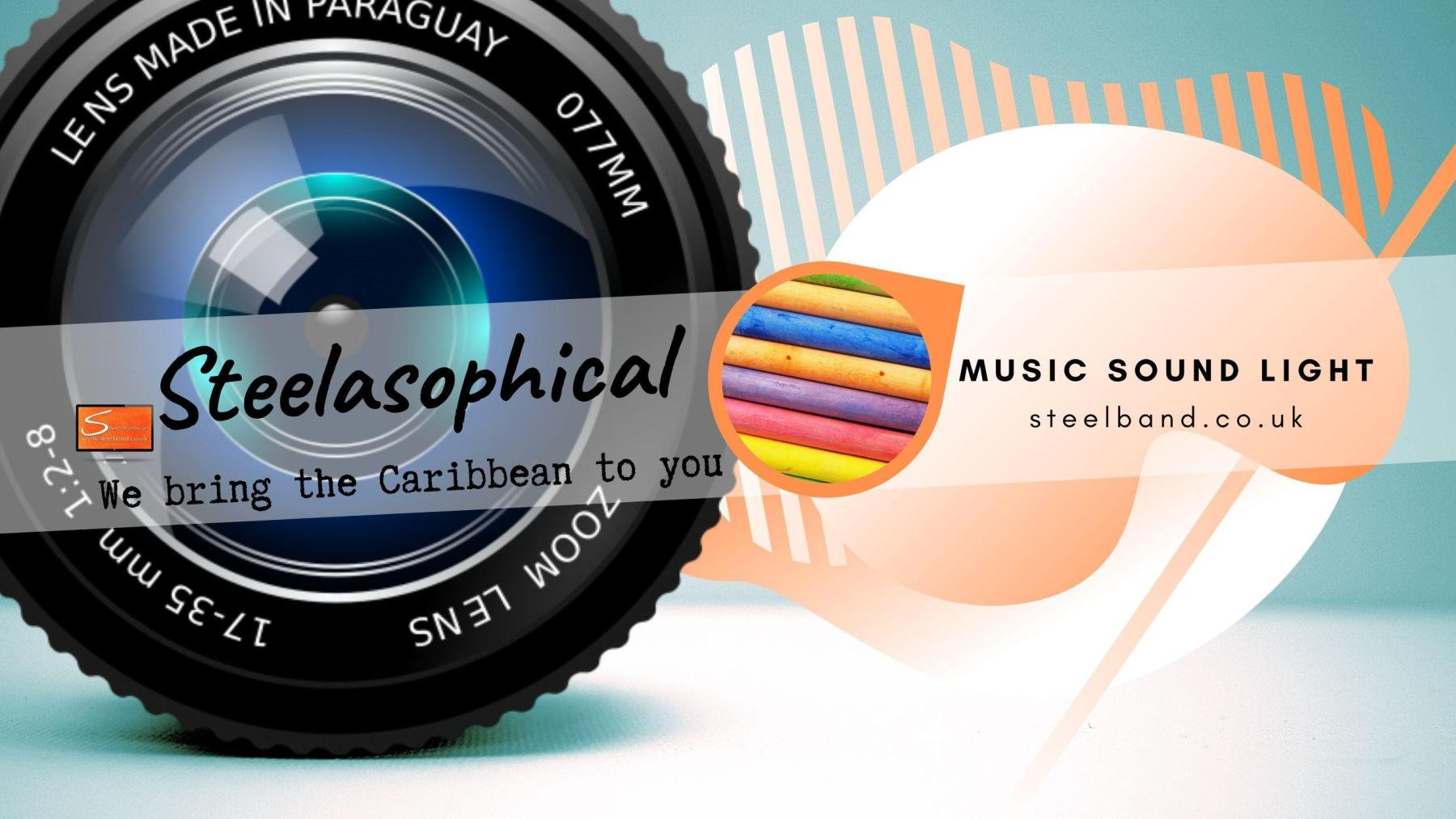 Steelasophical Steelpan-band for Hire UK steelpans Steeldrums Caribbean Music wyyywy