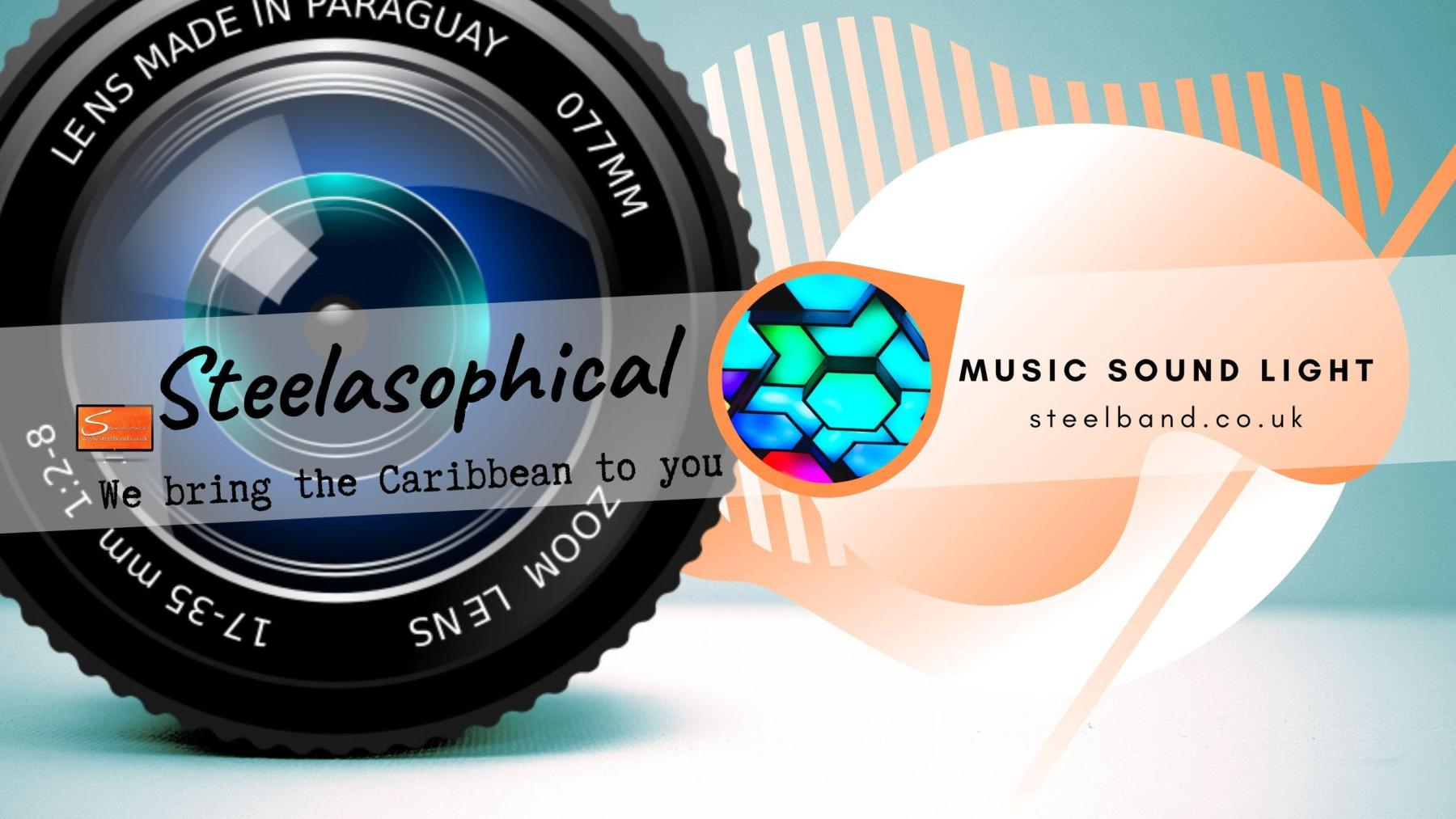 Steelasophical SteelBand for Hire UK steelpans Steeldrums Caribbean Music 01fsd