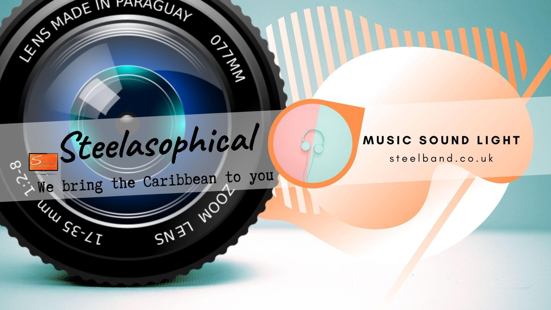 Steelasophical SteelBand for Hire UK steelpans Steeldrums Caribbean Music 01r