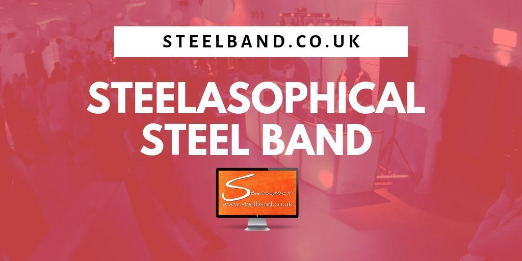 Steel Pan dj Steelasophical Caribbean Steel Drum