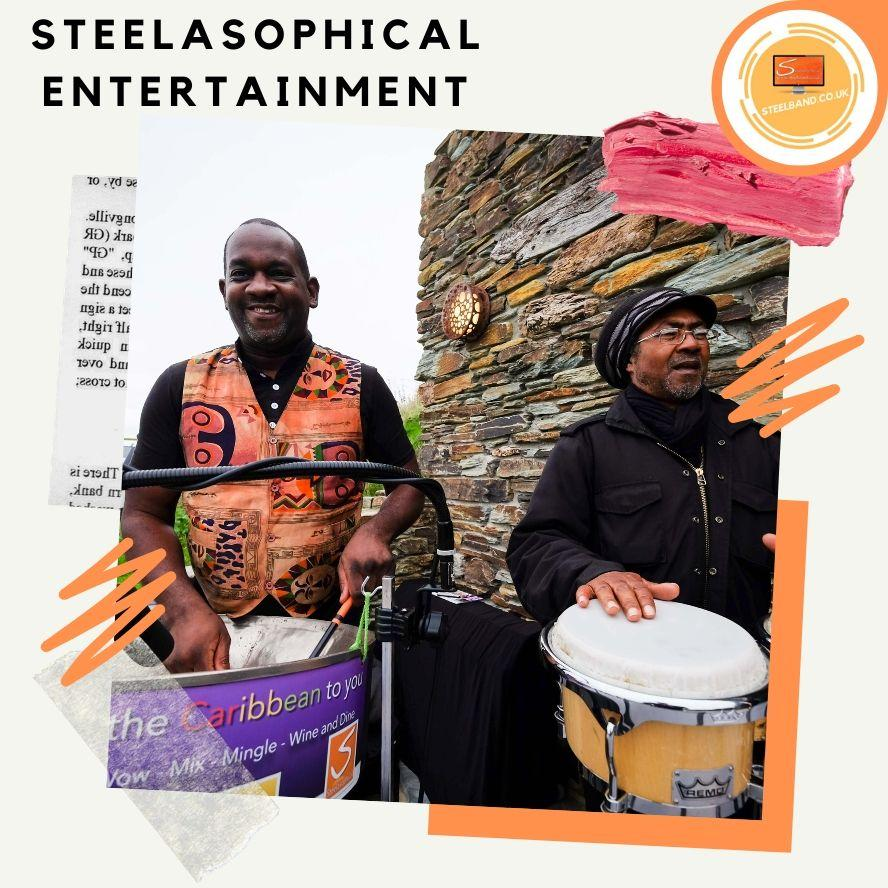Steelasophical Steelband steelpan steeldrums for hire 003