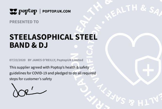 Steelasophical Steelband COVID 19