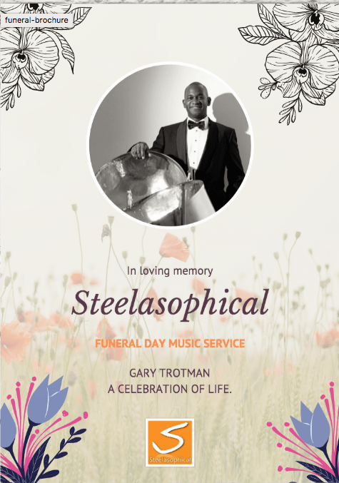 Hiring Steelasophical Funeral Music Services COVID brochure