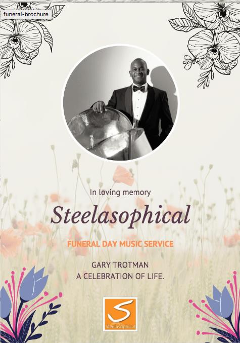 Steelasophical fine farewell funeral brochure