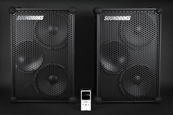 Caribbean Music Mobile DJ -Soundboks 3 speakers 01