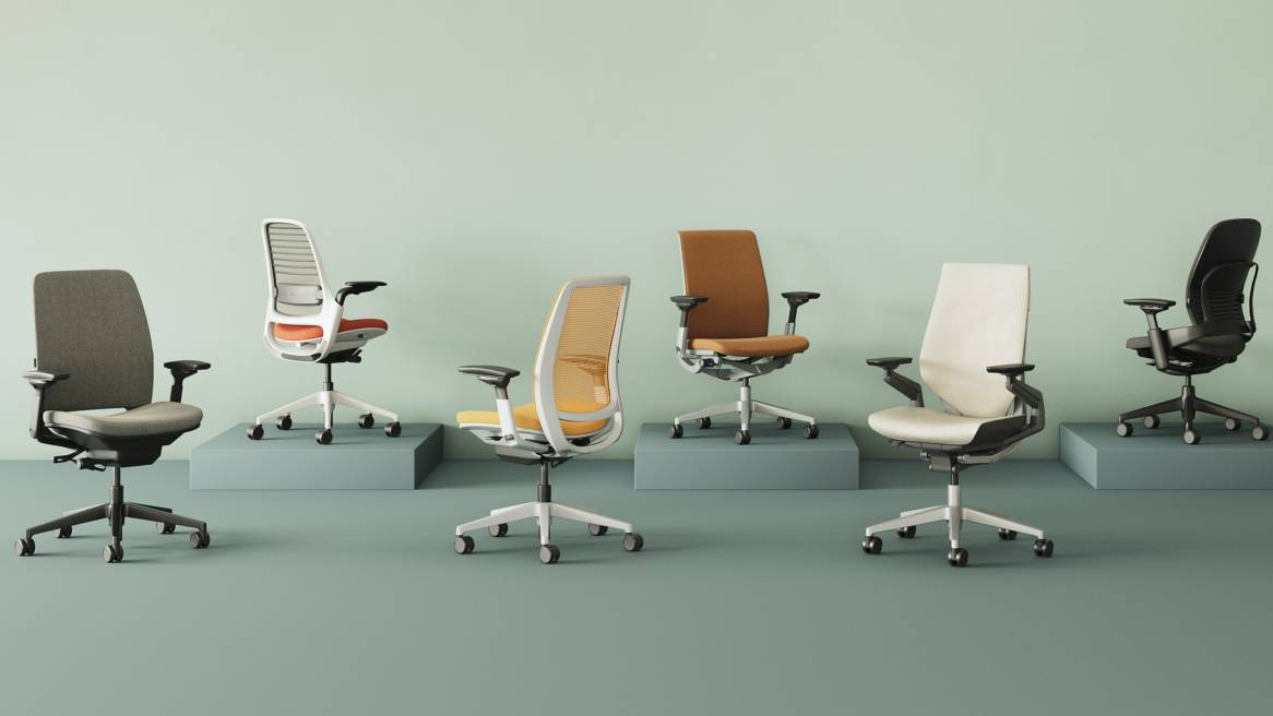 Office Chairs Modern Desk Task Seating Steelcase
