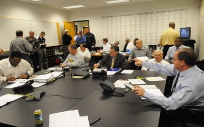Steelers Draft War Room