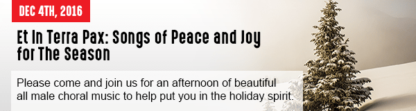 Et In Terra Pax: Songs of Peace and Joy for The Season