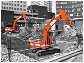Diggers. Sheffield S1