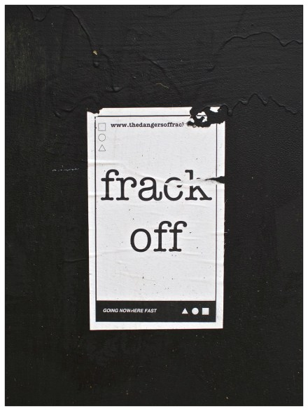 Frack Off. Sheffield S11