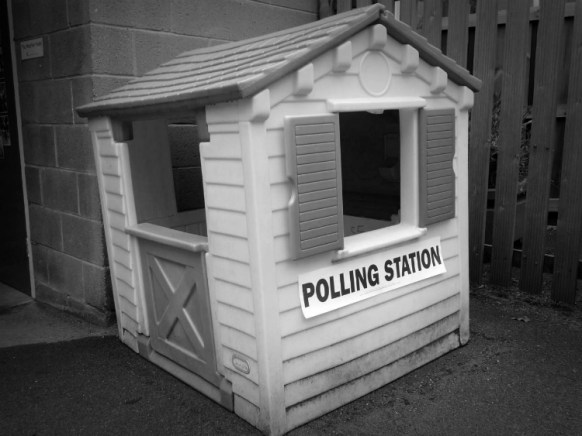 Polling Station, Playing at Politics!