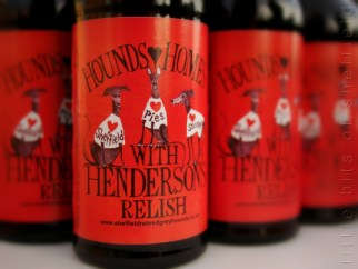Hendersons Relish Special Edition for Sheffield Retired Greyhounds 2014