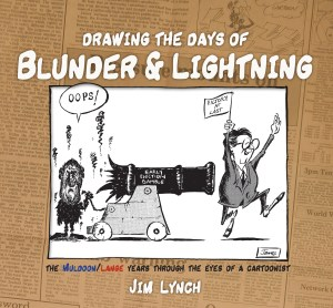 Drawing the Days of Blunder and Lightning cover