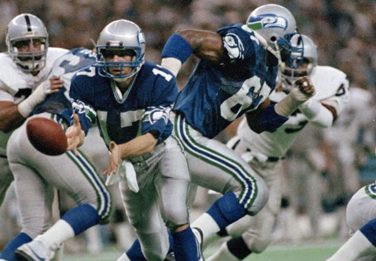 1. Seattle Seahawks – Please Paul Allen I m begging you. Ditch those  horrendous uniforms you currently have and bring back these classics! 3387862f3