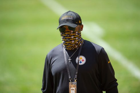 Pittsburgh Steelers Head Coach Mike Tomlin at Heinz Field during the Steelers 2020 Training Camp, Wednesday, Aug. 17, 2022 in Pittsburgh, PA. (Caitlyn Epes / Pittsburgh Steelers)
