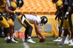 Pittsburgh Steelers long snapper Kameron Canaday (57) trains at Heinz Field during the Steelers 2020 Training Camp, Friday, Aug. 21, 2020 in Pittsburgh, PA. (Karl Roser / Pittsburgh Steelers)
