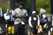 Pittsburgh Steelers Head Coach Mike Tomlin practices at the UPMC Rooney Sports Complex preparing for a Week 1 matchup against the New York Giants, Wednesday, Sept. 9, 2020 in Pittsburgh, PA. (Karl Roser / Pittsburgh Steelers)