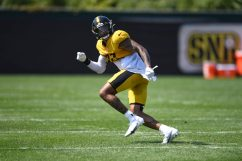 Pittsburgh Steelers safety Marcus Allen (27) practices at the UPMC Rooney Sports Complex preparing for a Week 1 matchup against the New York Giants, Wednesday, Sept. 9, 2020 in Pittsburgh, PA. (Karl Roser / Pittsburgh Steelers)