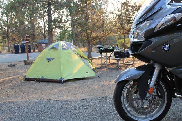 camp at Tumalo