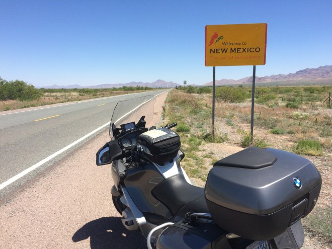 Hwy 80 at border of New Mexico and Arizona