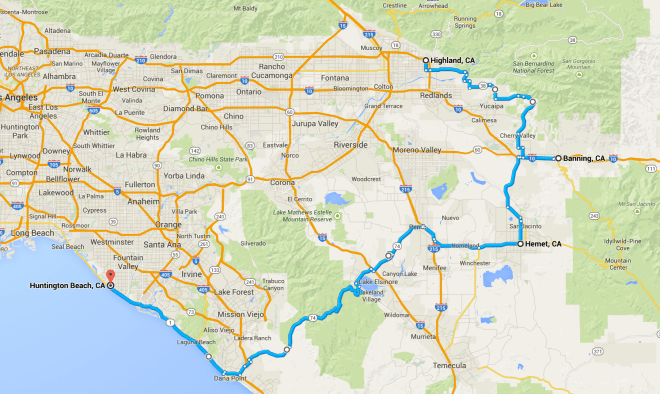 Day 12 Route