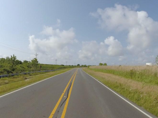 Hwy 82 along Louisiana coast