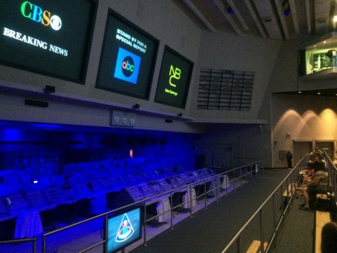 Apollo VIII Control Room Exhibit