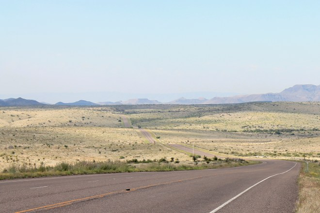 Hwy 17 south of Fort Davis
