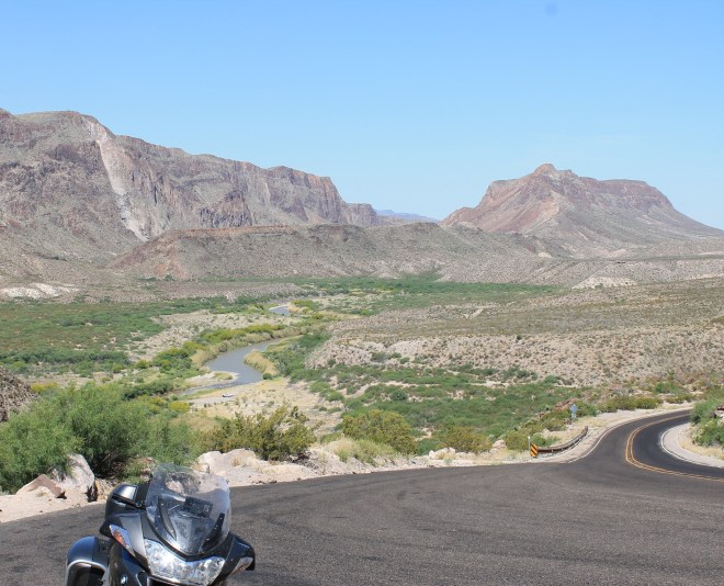 Big Bend Ranch (Hwy 170) with Rio Grande in the background