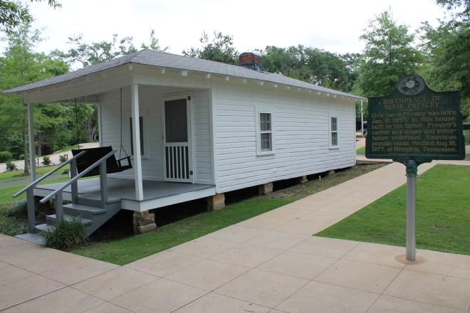 Elvis Presley Birthplace, Tupelo, MS