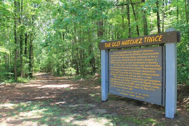 Section of the Old Natchez Trace